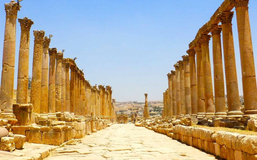 Jerash, Madaba & Mt. Nebo