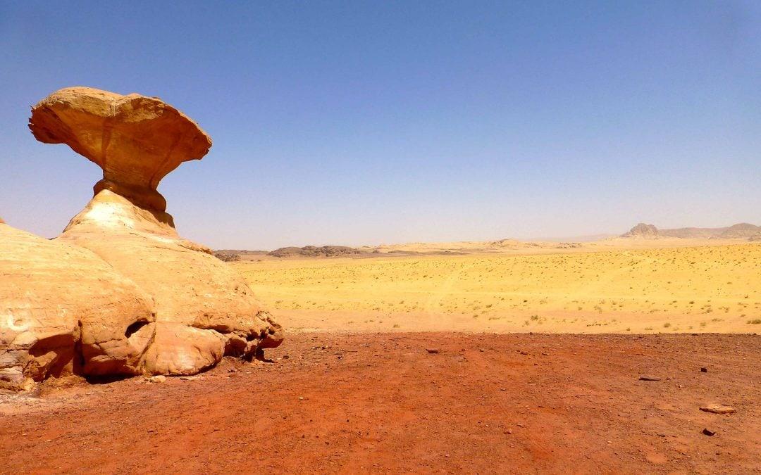 Off Roading in Wadi Rum