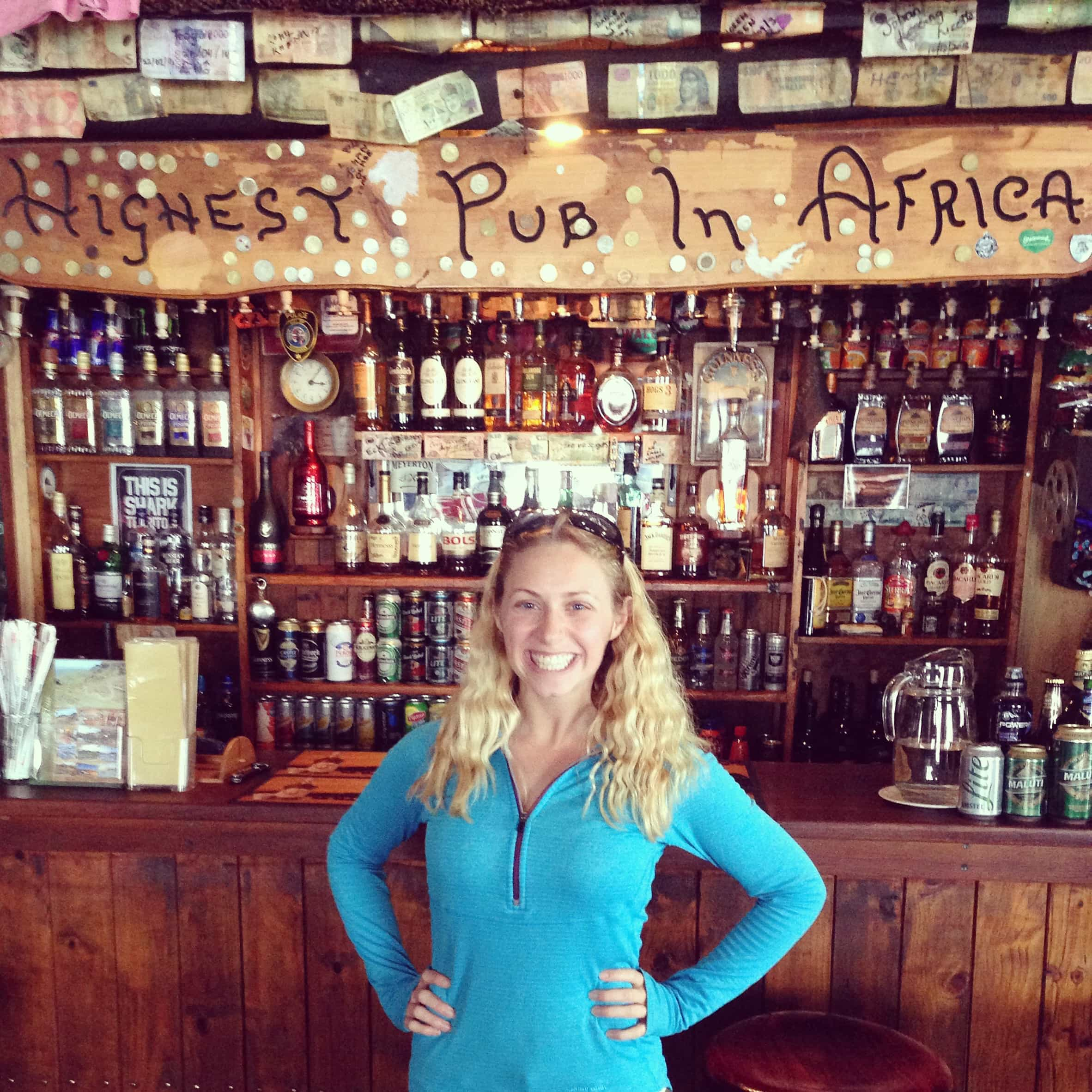 Drinking in the Clouds: the Highest Pub in Africa