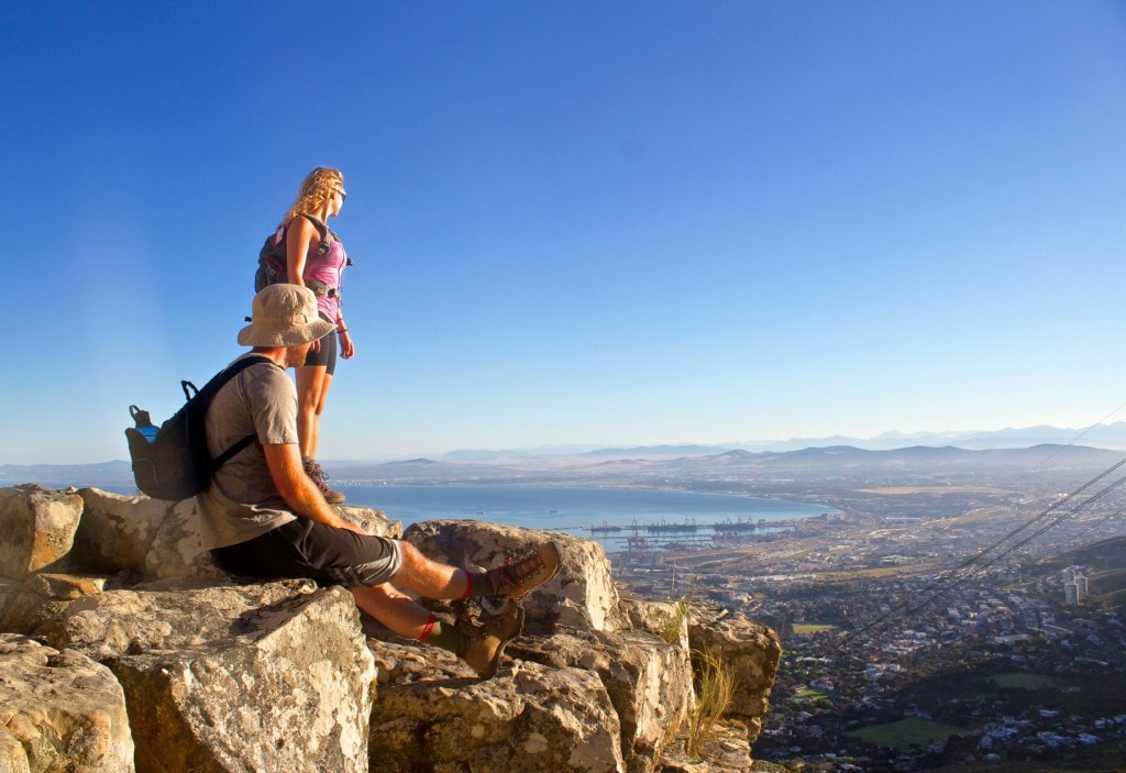 Tackling Table Mountain