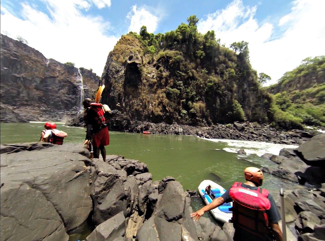 White Water Rafting down the Zambezi with Wild Horizons!