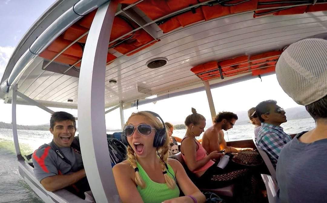 La Fortuna to Monteverde via Jeep-Boat-Jeep
