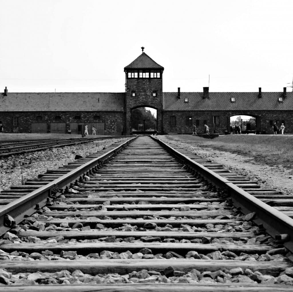 From the outside, it doesn't seem bad, but then you remember just how many millions walked these same steps to their death in Auschwitz-Birkenau. To read more about our experience at the concentration camps, please see: www.thefivefoottraveler.com