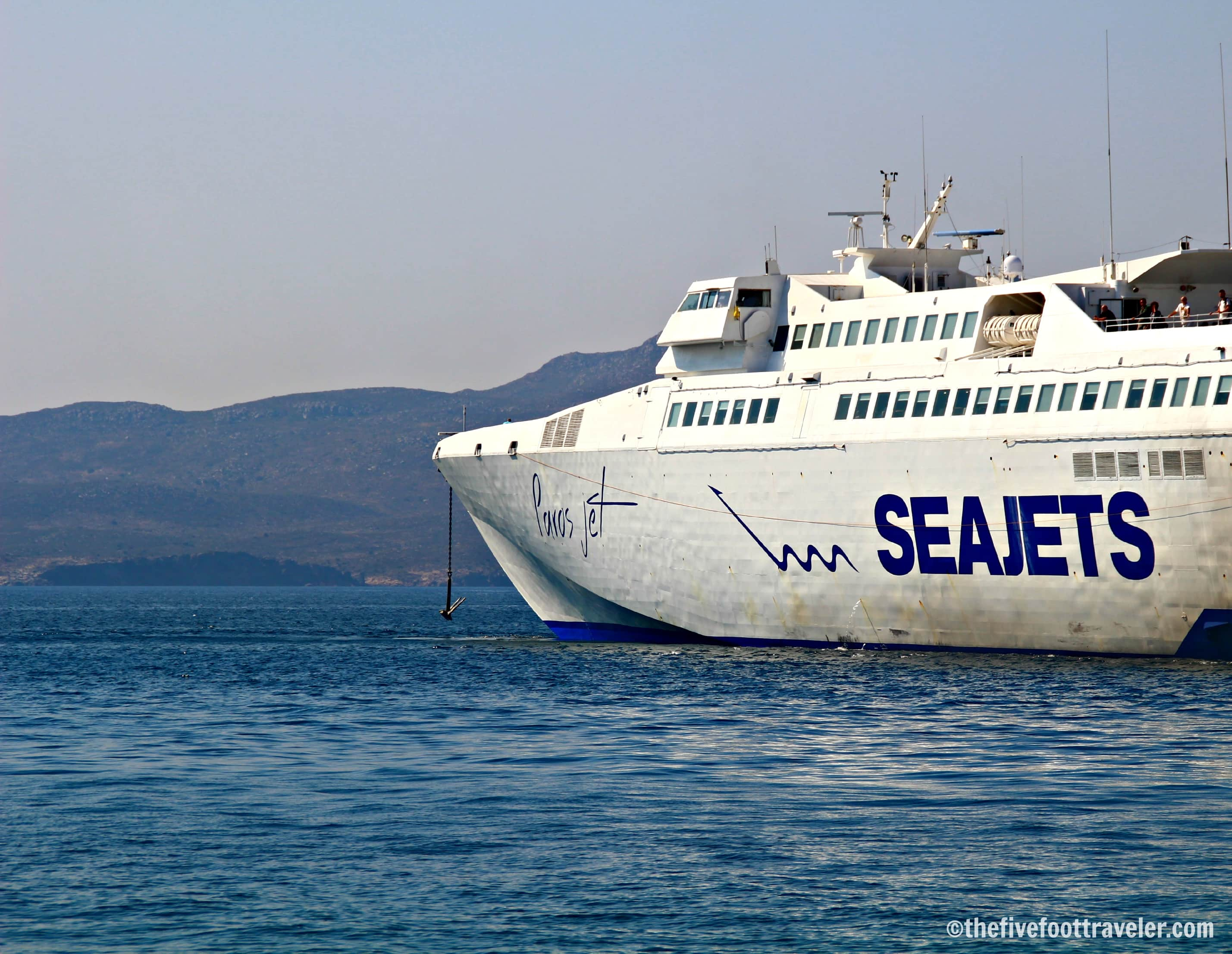 SeaJets Ferries: Island Hopping in Greece!