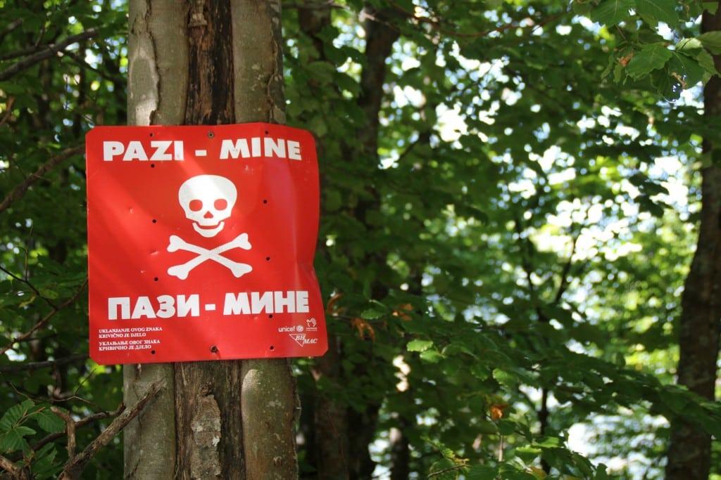 sarajevo mines