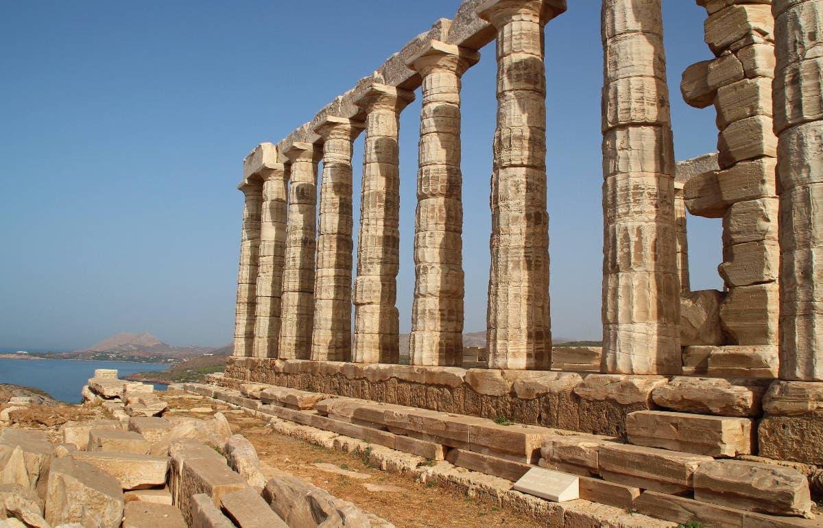 Roadtripping! Temple of Poseidon to Meteora