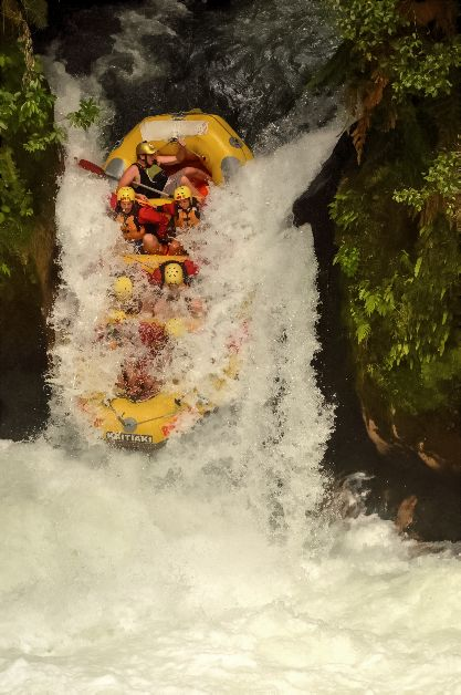 What happens when you raft down the world's highest commercial waterfall? Read further to find out! www.thefivefoottraveler.com