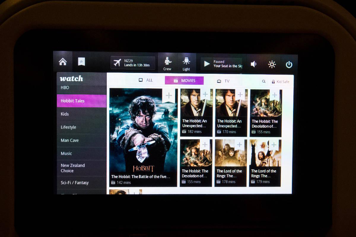 Air New Zealand Entertainment