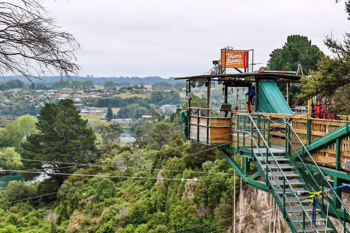 Why live on the edge when you could jump off? Taupo Bungy & Extreme Swing is perfect for those adrenaline-seekers on the North Island. Read more on www.thefivefoottraveler.com