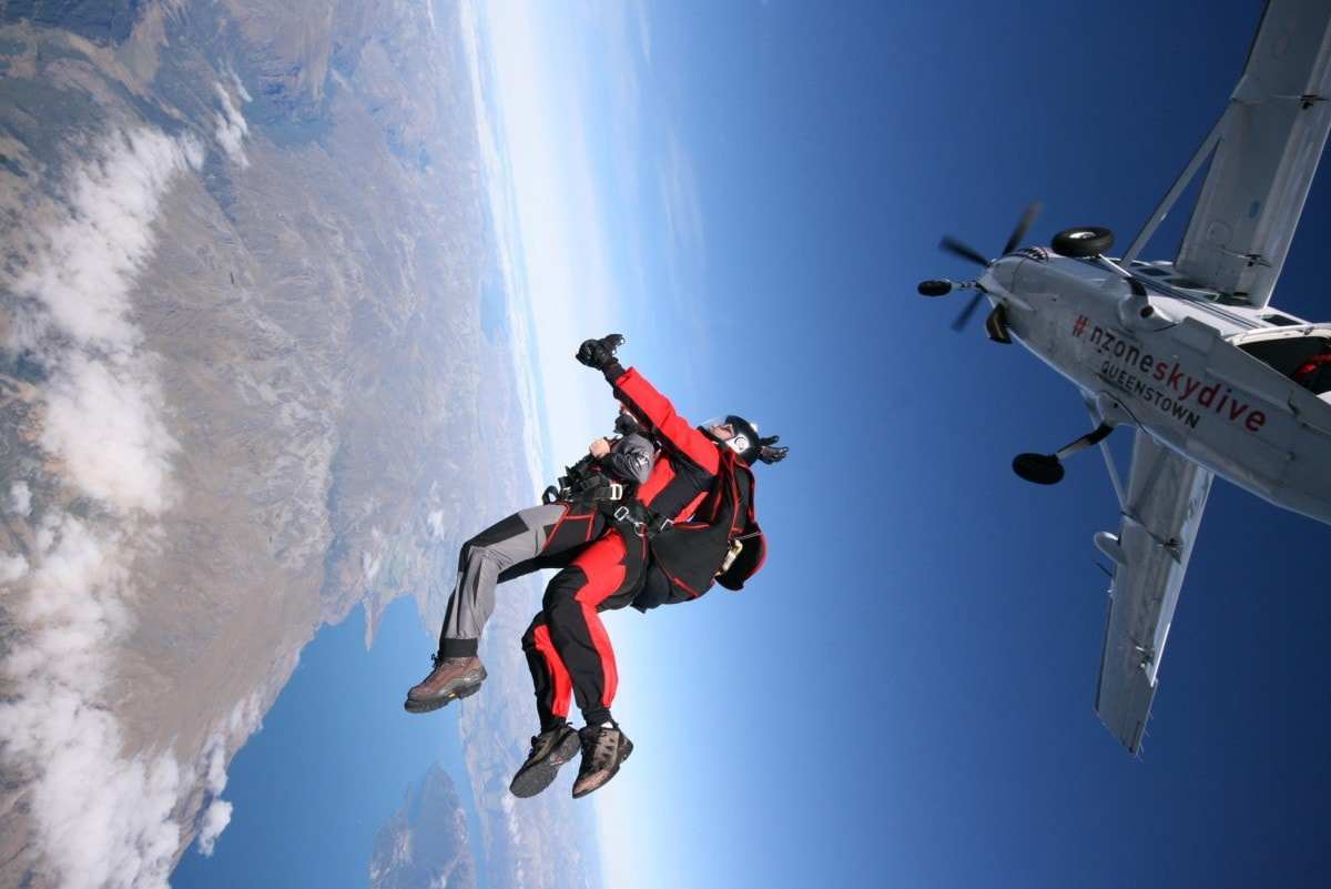 Embrace the fear. For as long as I could remember, I had a debilitating fear of flying. How could I ever jump out of a plane and skydive?