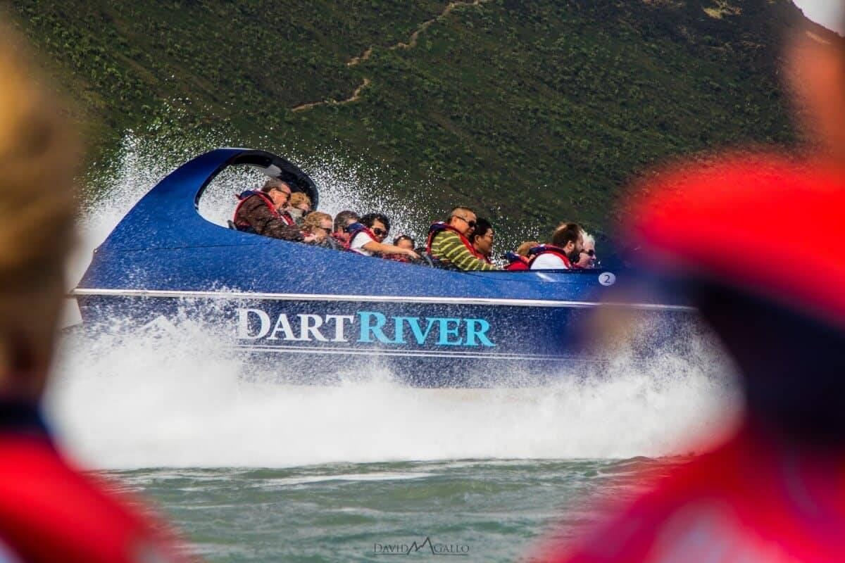 Jetting Down The Dart River