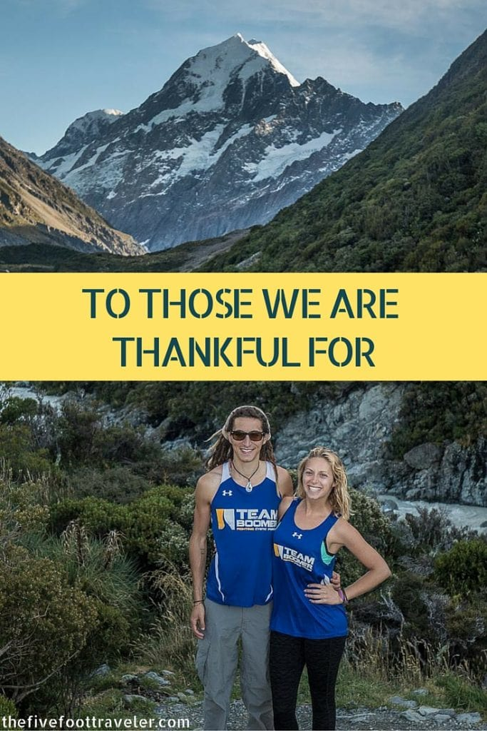 Our incredible New Zealand trip couldn't have happened without the help of many extremely kind and generous people. THANK YOU for making this possible! Read more at www.thefivefoottraveler.com