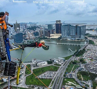 The World's Highest Bungy Jump!
