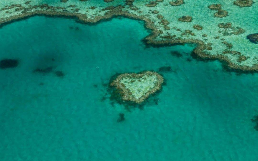 Heart Reef: Flying Over Australia's Iconic Great Barrier Reef