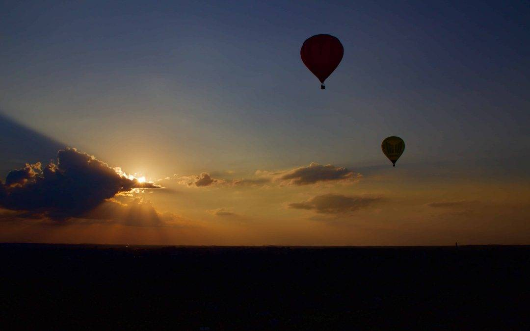 Some Like It Hot…Hot Air Ballooning!