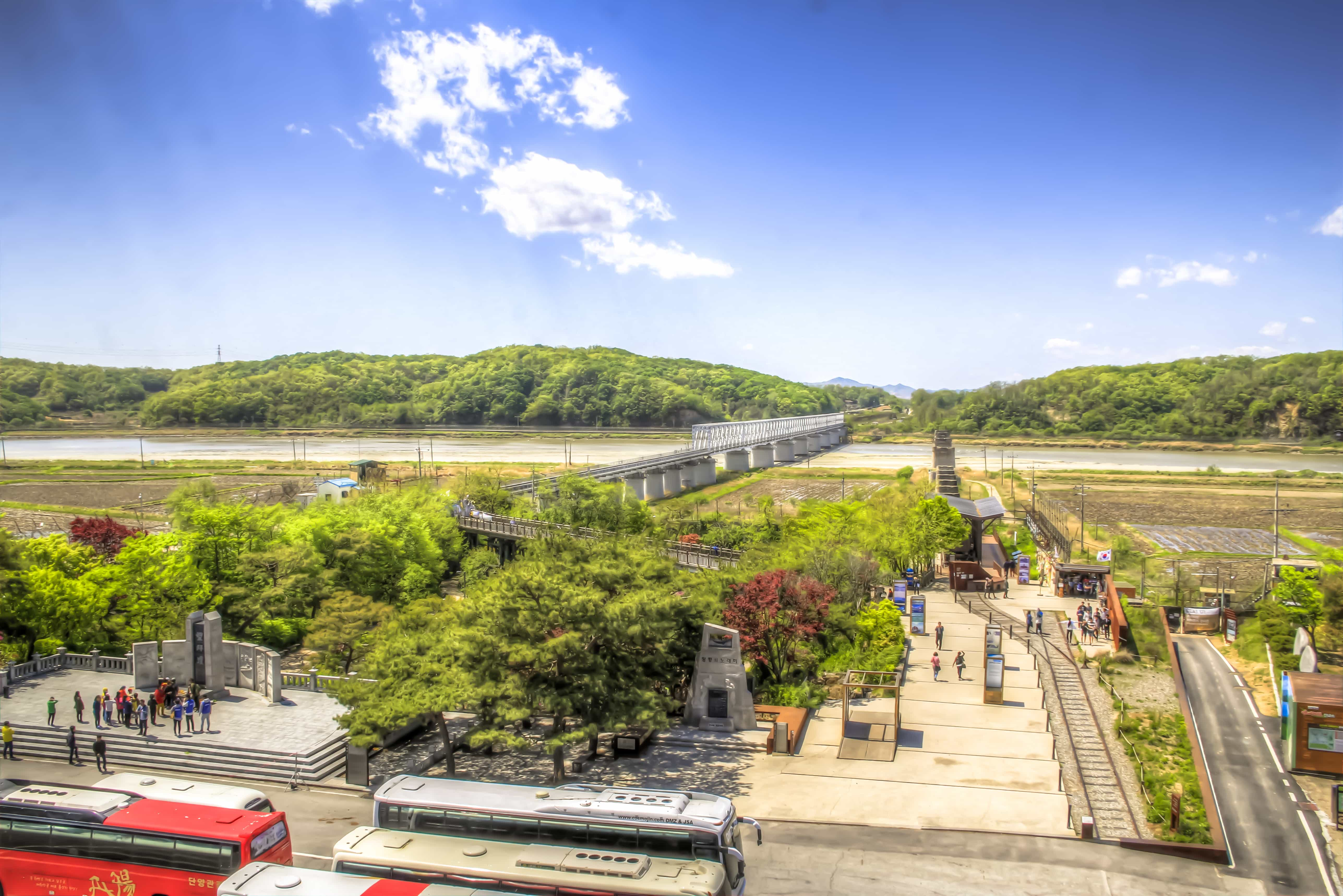 """Would you visit """"the most dangerous place on Earth?"""" The world's only demilitarized zone? Korea's DMZ proves both interesting and educational. Read more at www.thefivefoottraveler.com"""