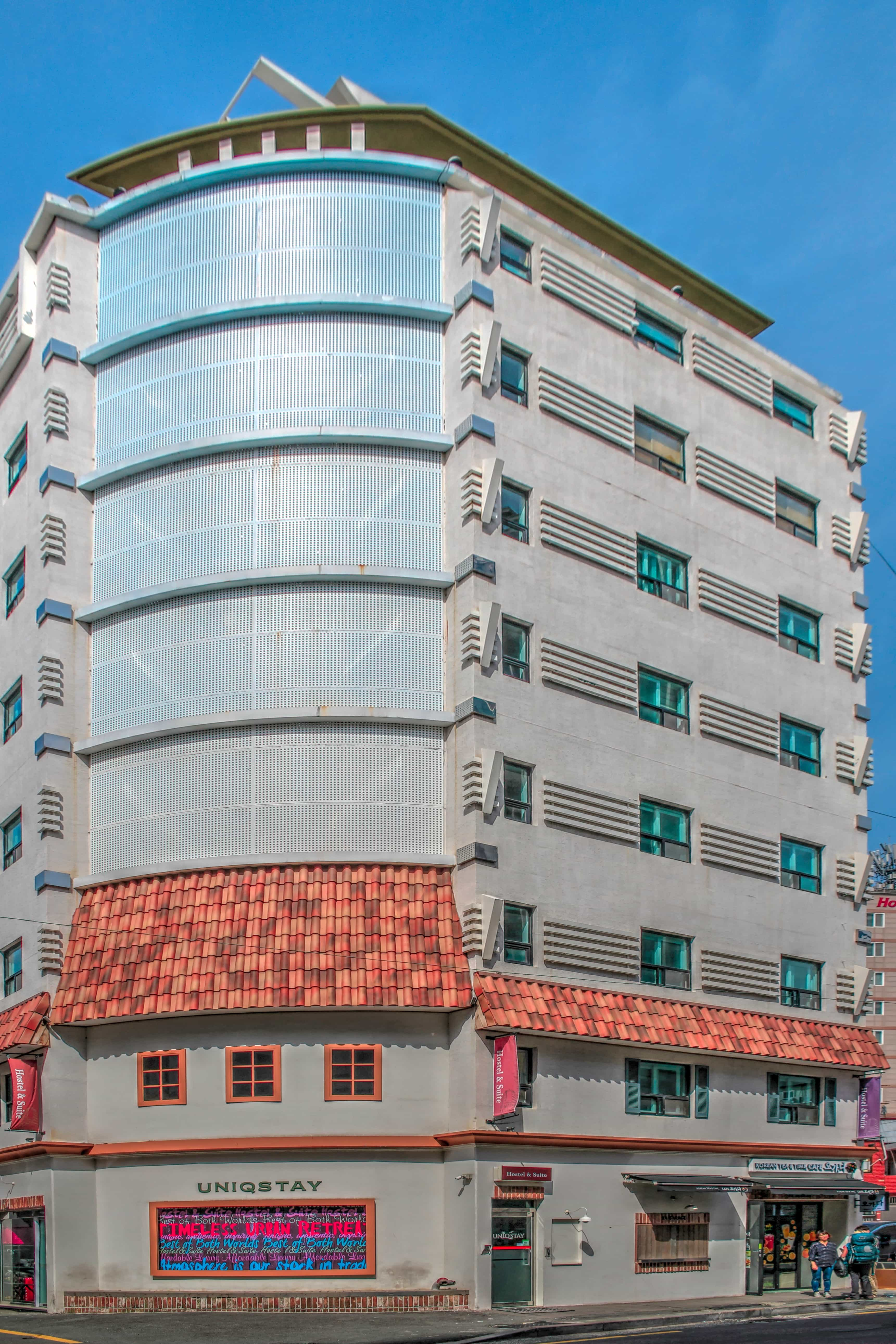 """The word """"hostel"""" can sometimes be associated with a cheap, grungy place to spend the night, yet Uniqstay exudes comfort and class in Busan, South Korea. Read more at www.thefivefoottraveler.com"""