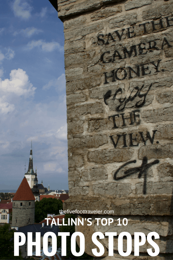 If you're making your way across Scandinavia and down through the Baltics, but only have one day in Tallinn, there are 10 photo stops that cannot be missed! Read more at www.thefivefoottraveler.com