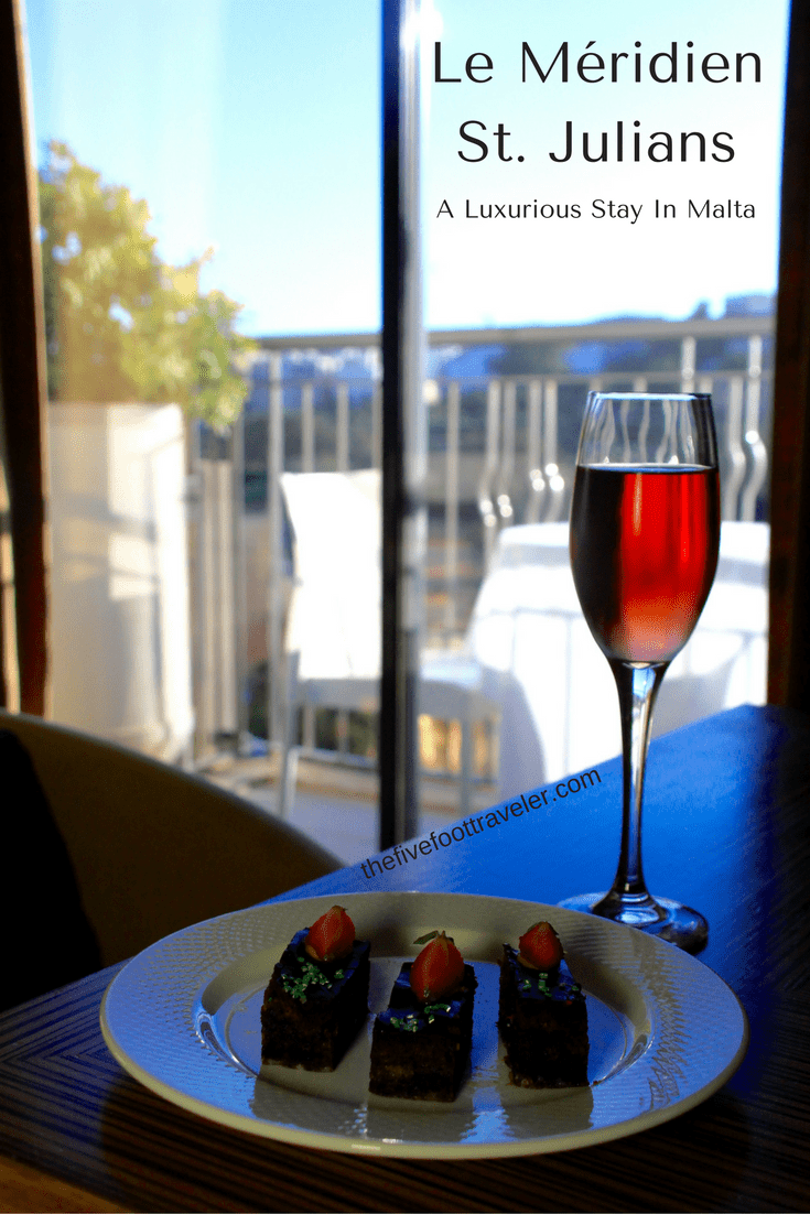 Spacious rooms, incredible views, and delicious breakfasts are just a glimpse of what you will find at Le Méridien St. Julians. There's nowhere better! Read more at www.thefivefoottraveler.com