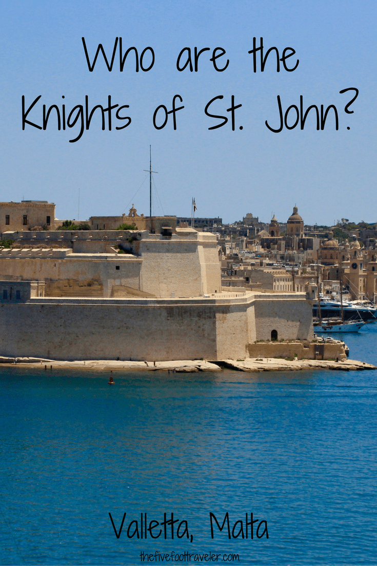 Would you like to sleep in a room that was once for the Knights of St. John? The British Hotel offers exactly that, plus the best panoramic views in Malta! Read more at www.thefivefoottraveler.com