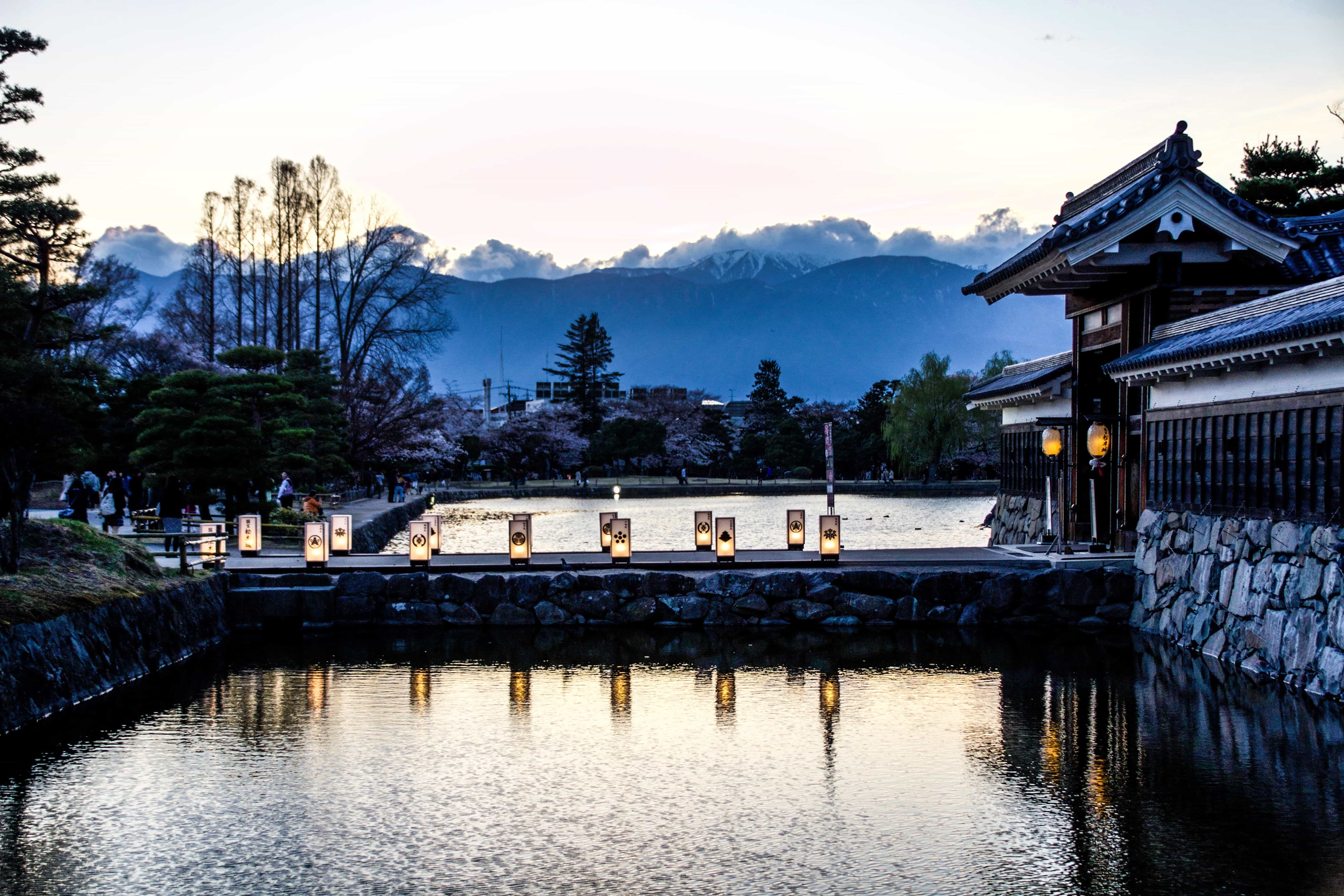 If you're journeying to Japan for cherry blossom season, Matsumoto Castle is hands down the best spot to view them without incessant crowds! Read more at www.thefivefoottraveler.com
