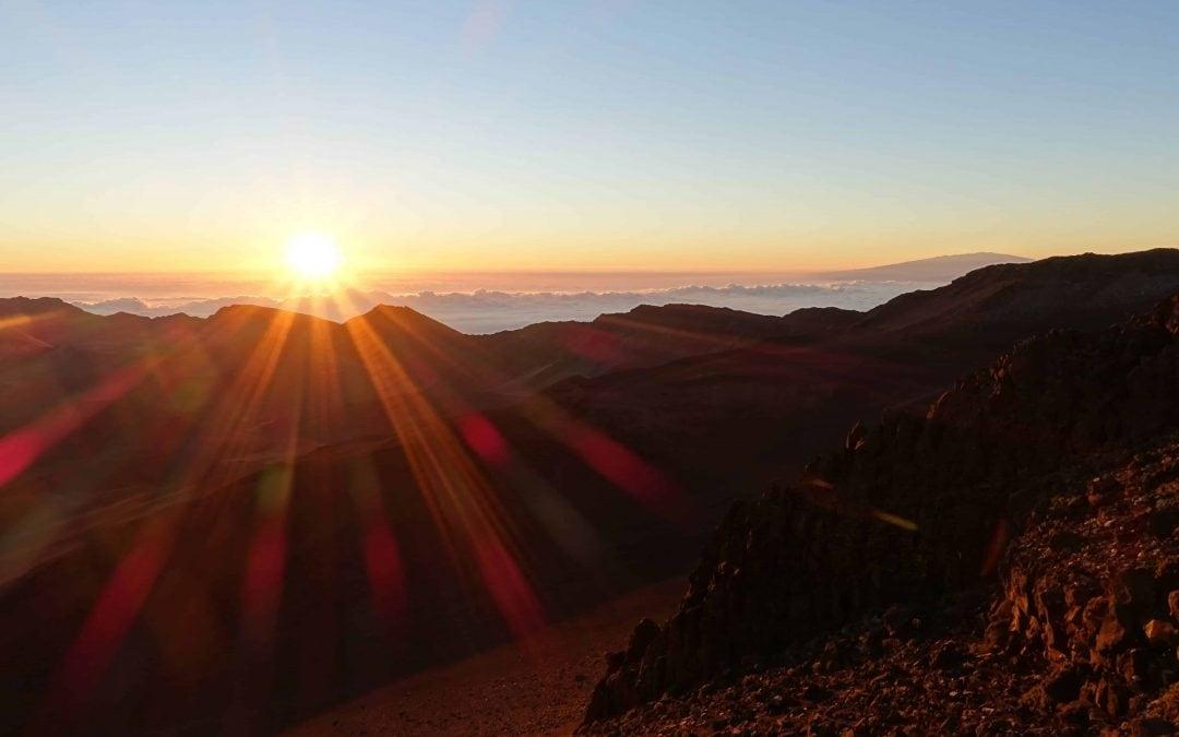 Give into Temptation: Sunrise over Haleakala
