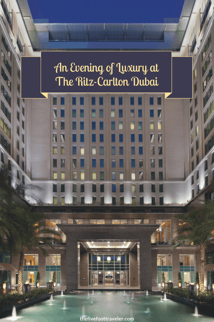 The Ritz-Carlton Dubai mixes glamour and business seamlessly. From luxurious accommodations to impeccable locations, you simply cannot go wrong! Read more at www.thefivefoottraveler.com