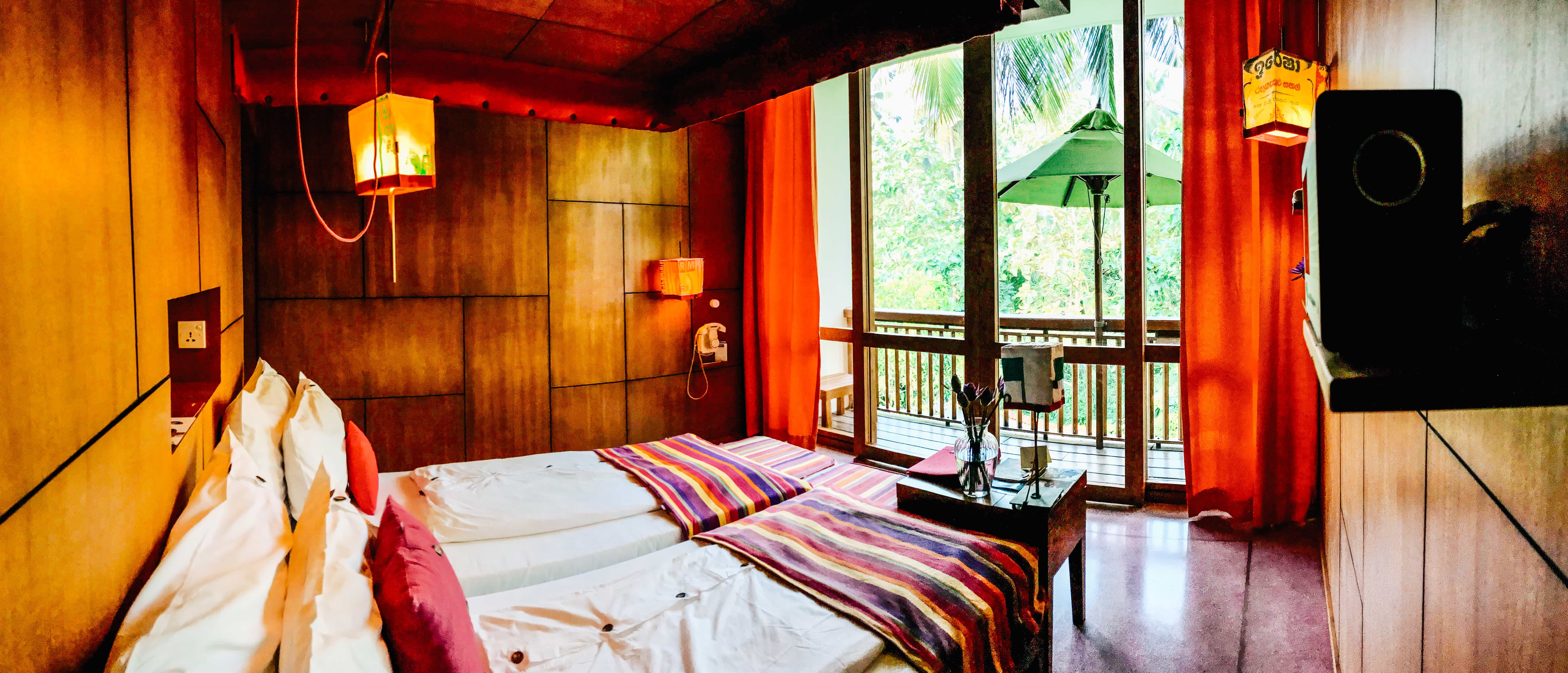Underneath the Mango Tree radiates warmth, relaxation, and good vibes. With colorful decor, UTMT will light up your vacation - both physically and mentally! A few days relaxing at UTMT is an absolute must for anyone visiting Sri Lanka. Read more at www.thefivefoottraveler.com