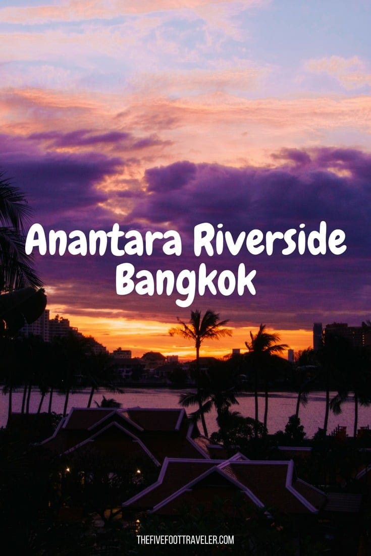 If you're looking to experience the luxurious side of Bangkok, look no further than Anantara Riverside Bangkok Resort. Set along the Chao Phraya River, Anantara Riverside offers you beautiful views, outstanding amenities, superb dining, and spectacular service. Just wait until you can experience this yourself! Read more at thefivefoottraveler.com