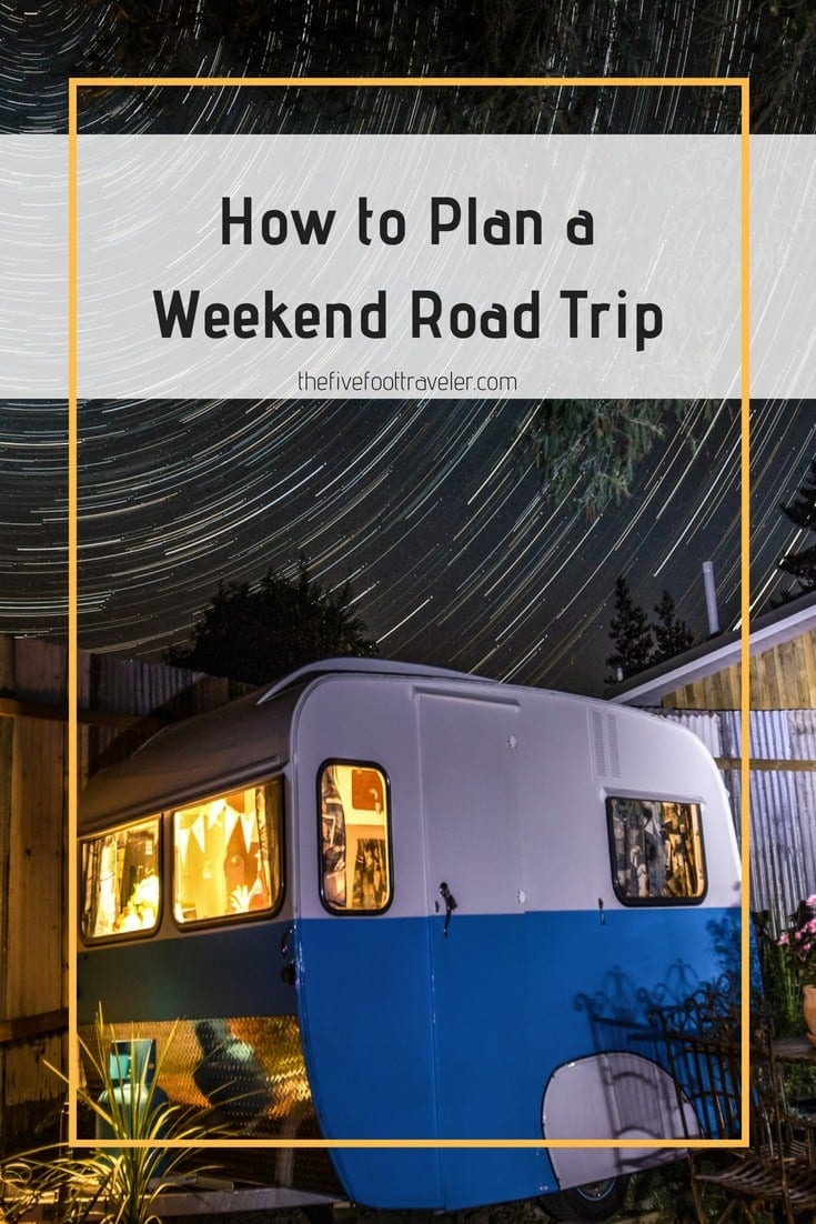 Make the most of your weekend by hitting the road and seeing more of what your country has to offer! There are just a few things to remember while prepping for your trip. Read more at www.thefivefoottraveler.com