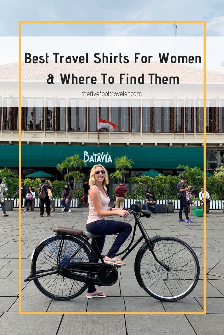 travel shirts for women, women's travel shirts