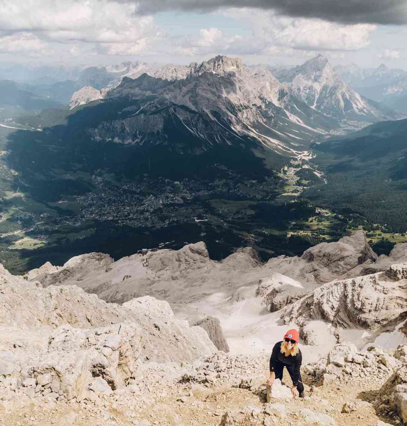 Tofana di Mezzo Hike in the Dolomites