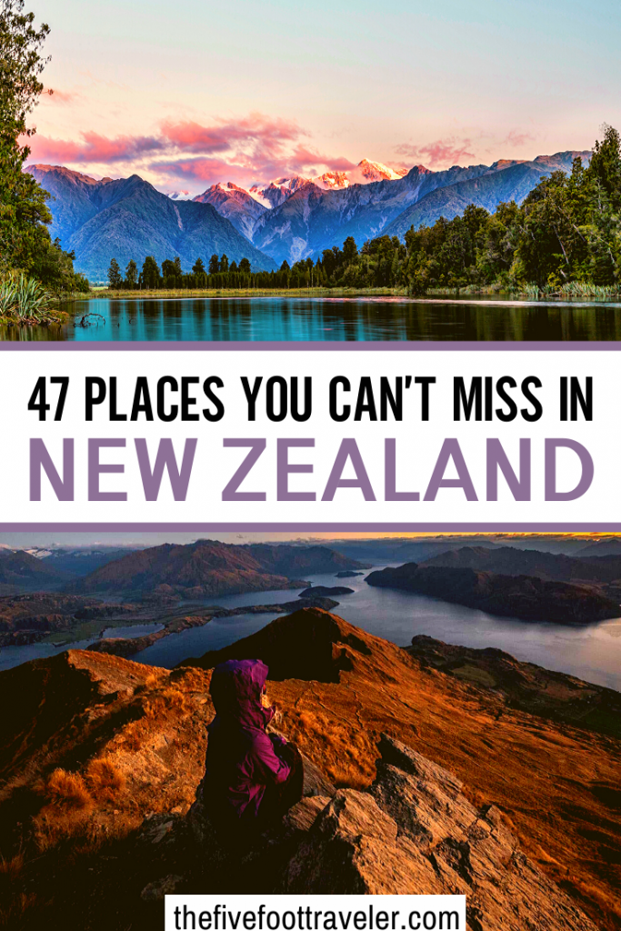 places to visit in New Zealand pinterest