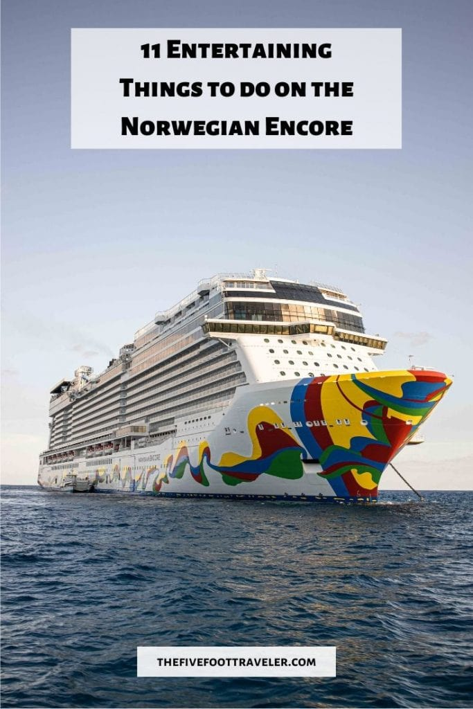 things to do on the norwegian encore