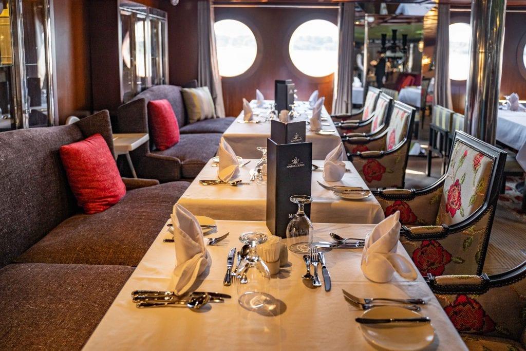 restaurant on board the m.s. mayflower