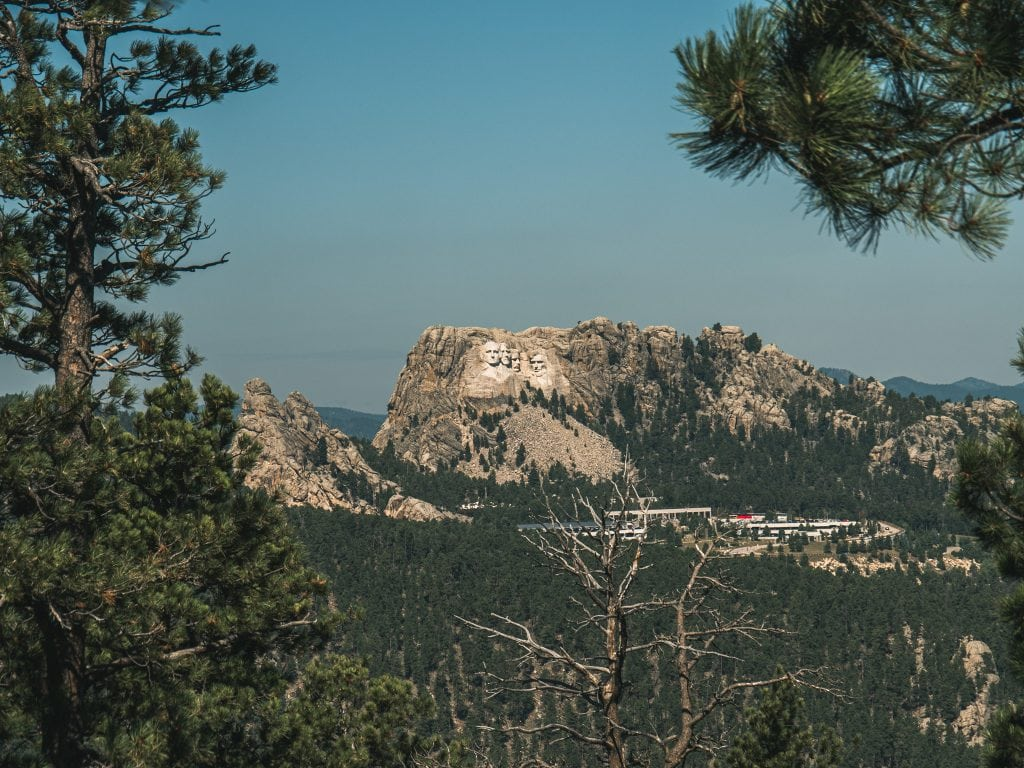 norbeck overlook mount rushmore
