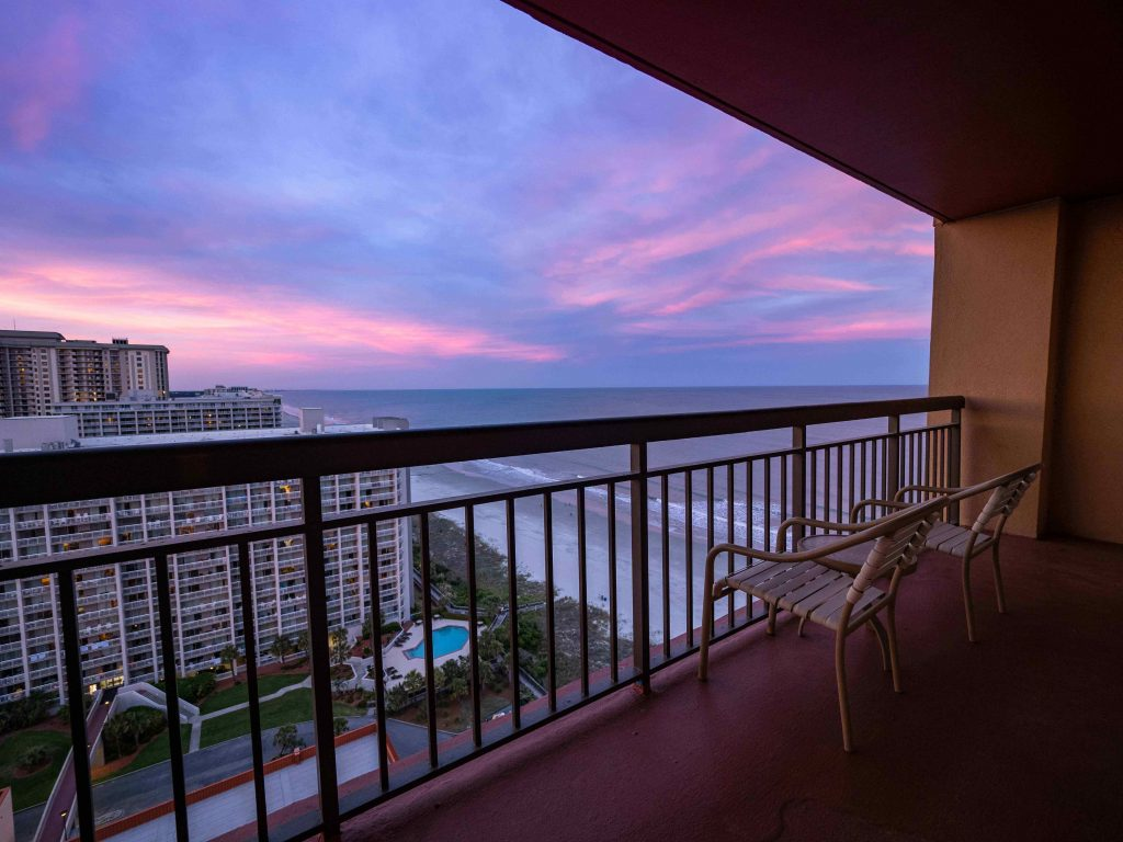 the view from kingston resort in myrtle beach