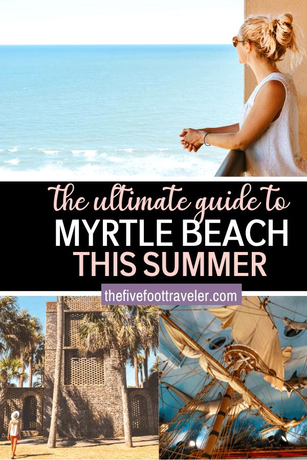 myrtle beach activities pin